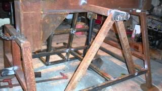 Repeat youtube video Construction détaillée d'une fendeuse horizontale