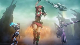 Phantasy Star Nova Promotion Trailer Japanese
