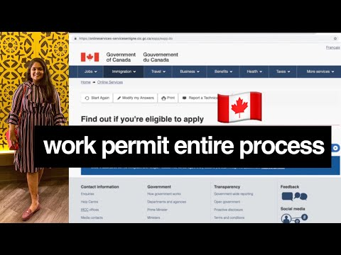 I Applied For A Post Grad Canadian Work Permit | Entire Process 2019