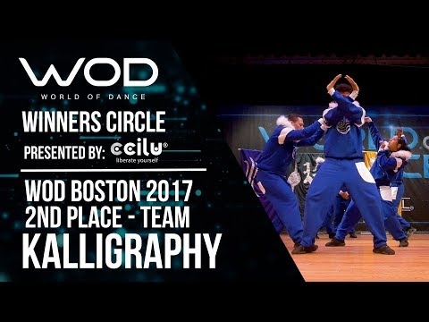 Kalligraphy | 2nd Place Team Division | Winners Circle | World of Dance Boston 2017 | #WODBOS17