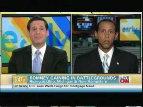 Roland Martin and Lenny McAllister on CNN's Early Start Oct 10 2012   1st Segment
