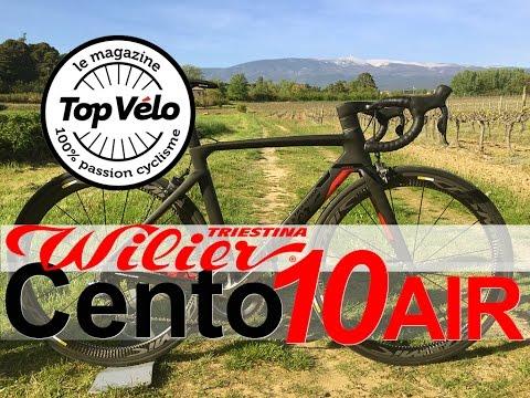 Image de la vidéo Présentation Wilier Triestina Cento10 air Alabarda : Le vélo de route aéro du constructeur Italien