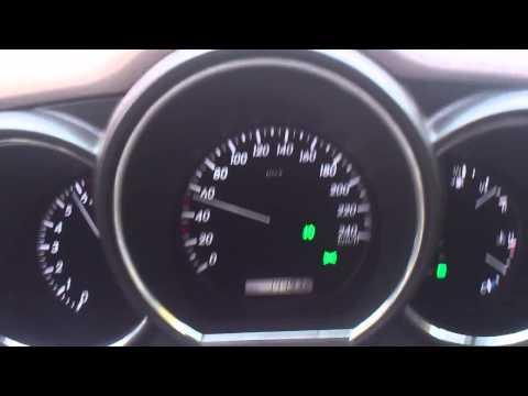 0 100 km h Lexus RX350 2007 3.5 V6 270 hp 5AT 4WD