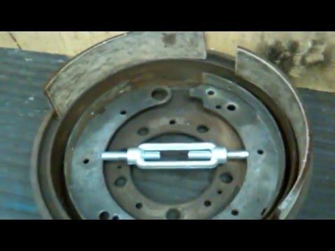 О методе ремонта тормозных колодок