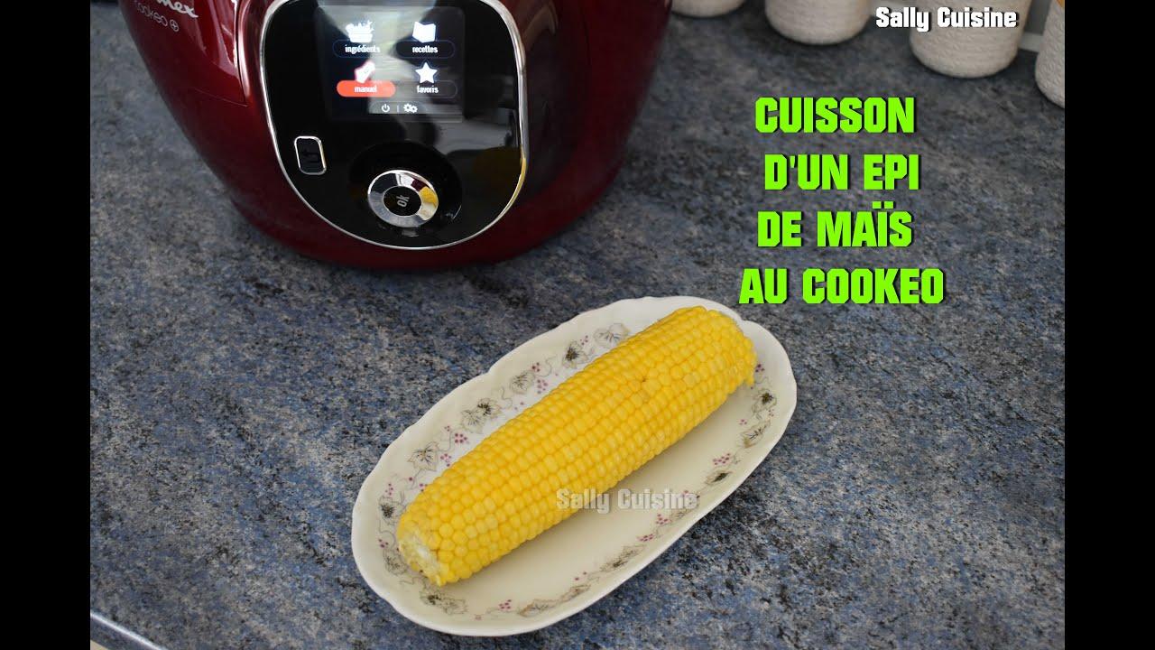 CUISSON D'UN ÉPI DE MAÏS AU COOKEO   SALLY CUISINE Episode 15