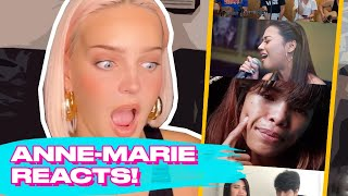 Download Anne-Marie Reacting To '2002' Cover Of Ms. Everything