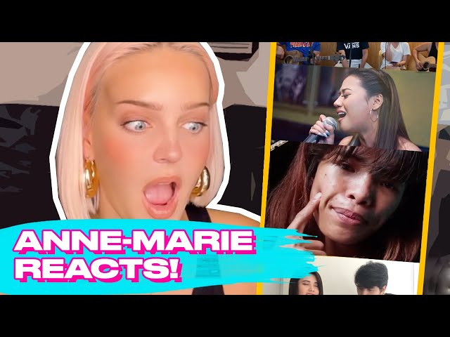 Anne-Marie Reacting To '2002' Cover Of Ms. Everything