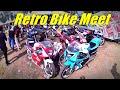 Retro bike event walk around