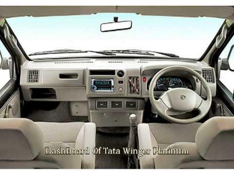 Tata Winger Interior