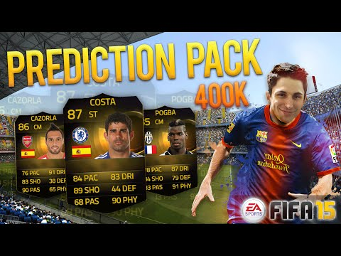 PREDICTION PACK OPENING! 400K [CONTEST ELGATO]