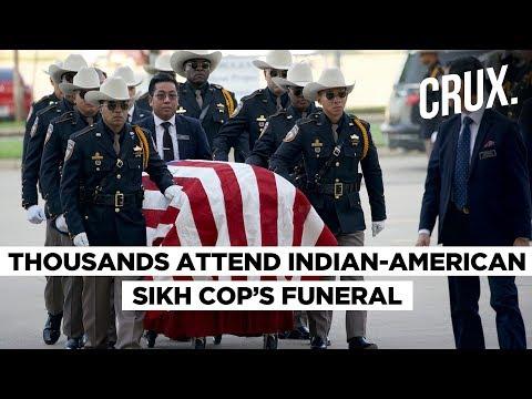 Sandeep Dhaliwal   Thousands Attend Slain Indian-Origin Sikh Cop's Funeral In Texas   CRUX