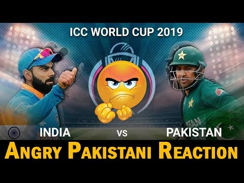 Angry Pakistani Reaction on India Vs Pakistan World Cup Match 2019 | Kind of Funny as well