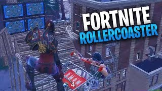 Insane Fortnite RollerCoaster!!! (No One Ever Completed It)