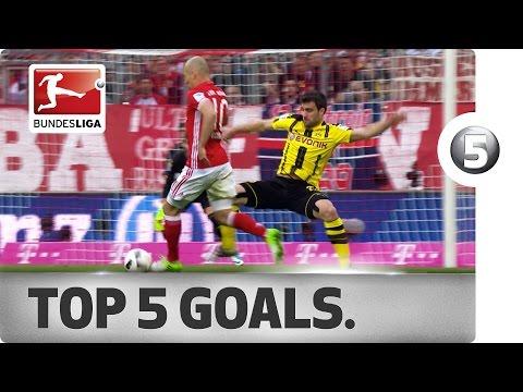 Топ-5 лучших голов 28-го тура Бундеслиги