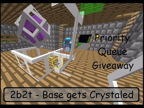 2b2t Goofing around with CancerChan gets this Peacekeeper's BASE Crystaled