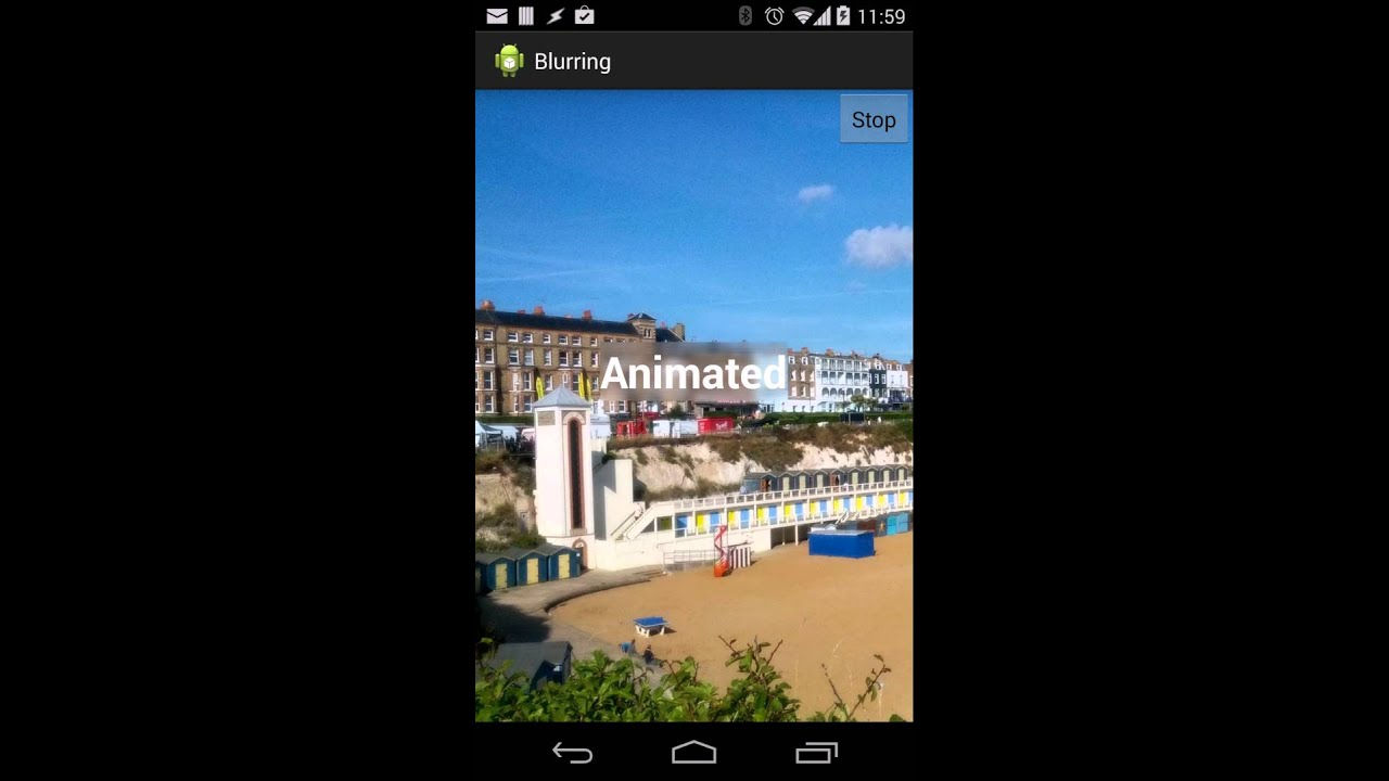 Blurring Images – Part 6 – Styling Android
