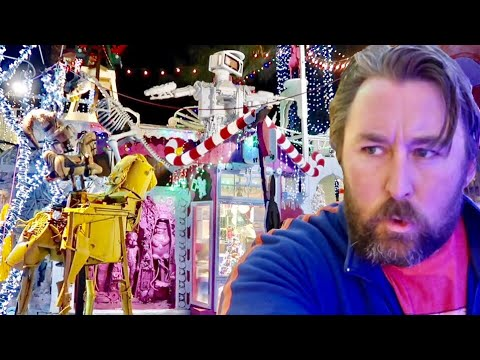 Robolights 2018 - The Very Bizarre Christmas World of Kenny Irwin / Palm Springs Robot Themed Park