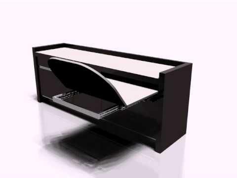 Galimberti ferramenta tavolo estraibile a cassetto youtube - Tavolo estraibile ...