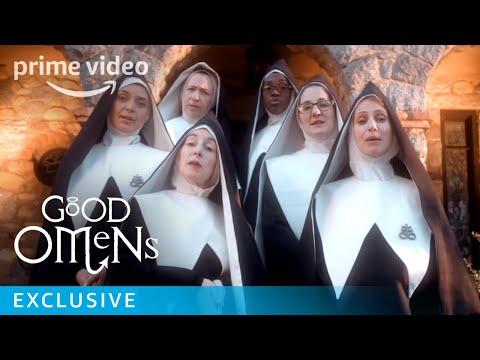 Ryan Seacrest - Good Omens' Chattering Order of St. Beryl Drop Music Video: Watch
