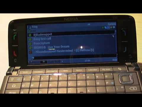 Nokia E90 + 4 apps HD 720p Review