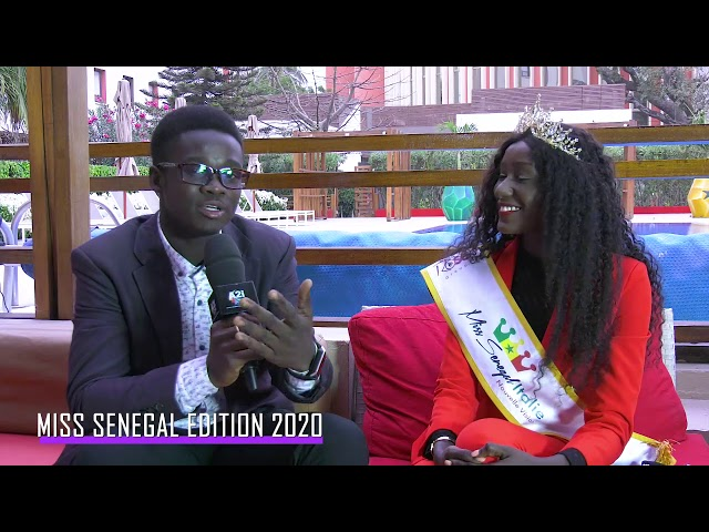 MISS SENEGAL 2020 (Entretien avec Miss SENEGAL / ITALIE )