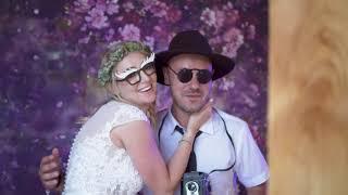 PixBox Selfiebox esküvői setup