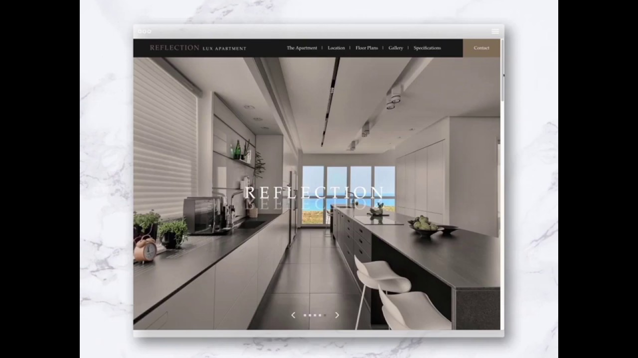 REFLECTION - Lux Apartment  Web Design - YouTube
