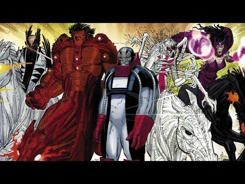 supervillain origins four horsemen of apocalypse from marvel comics