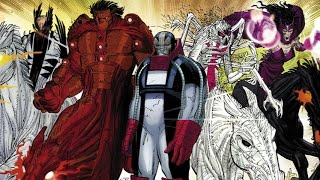 Supervillain Origins: Four Horsemen of Apocalypse from Marvel Comics