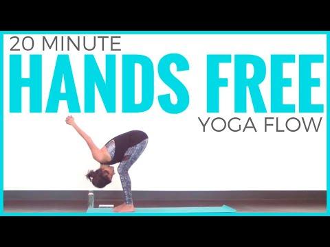 20 Minute Hands-Free Vinyasa Yoga Routine