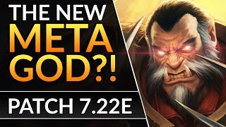 LYCAN GIGA BUFFED - OMNIKNIGHT DESTROYED? Patch 7.22E Buffs and Nerfs | Dota 2 Update Guide