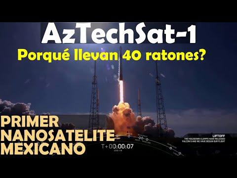 NOTICIAS: Lanzamiento Aztechsat-1 Nanosatelite Mexicano