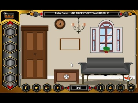 knf lovely living room escape walkthrough built in storage units classic house knfgames youtube