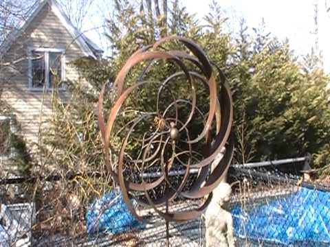 Flower Pinwheel Kinetic Wind Spinner