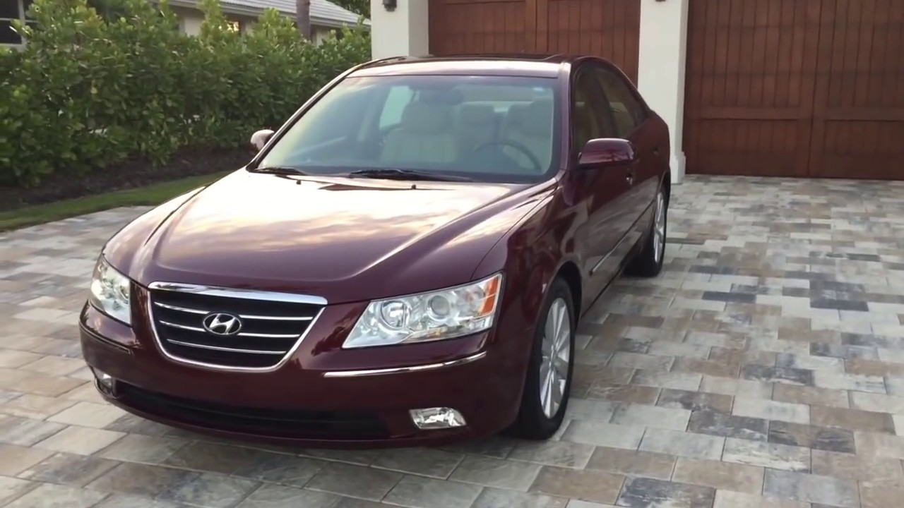 2009 Hyundai Sonata Limited V6 Review And Test Drive By Bill Auto Europa Naples