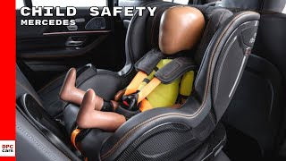 Mercedes Child Safety In The ESF Experimental Safety Vehicle