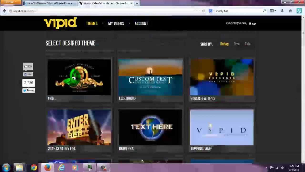 ivipid intro creator overview and video previews of all 36 of ...