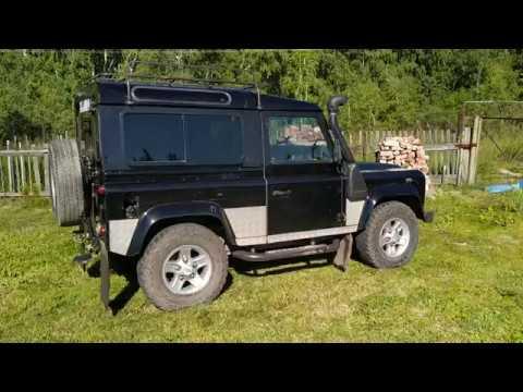 Land Rover Defender 90 Td5 2006 версия 2 отмыл :🤣