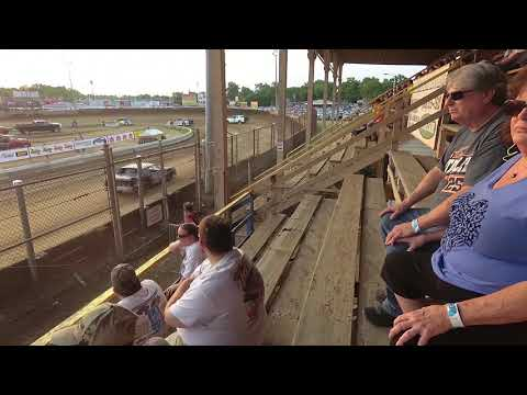 Belle Clair Speedway Pure Stock Heat Race