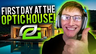 First Day at the OpTic House
