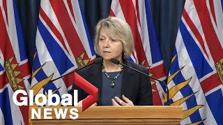 Coronavirus outbreak: B.C. reports half of COVID-19 cases recovered as total passes 1,000 | FULL