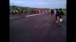 Lengsernya Ninja  puruk cahu Mura melawan Mx Anak Glanter Team Racing GTR of Muara Laung berjaya