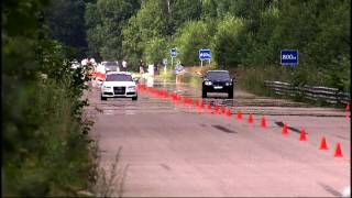 Moscow Unlim 500: Audi RS6 vs Bentley Flying Spur