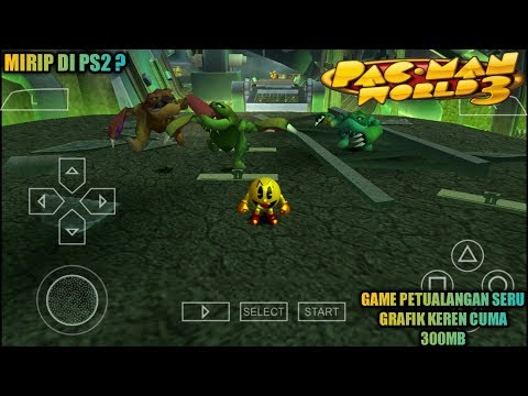 Cara Download Dan Install Game Pac-Man World 3 PPSSPP Android