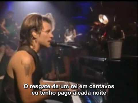 B Jovi  Bed Of Roses  legendado