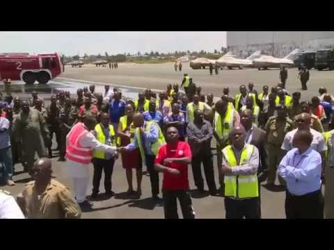 NDEGE MPYA   AIR TANZANIA