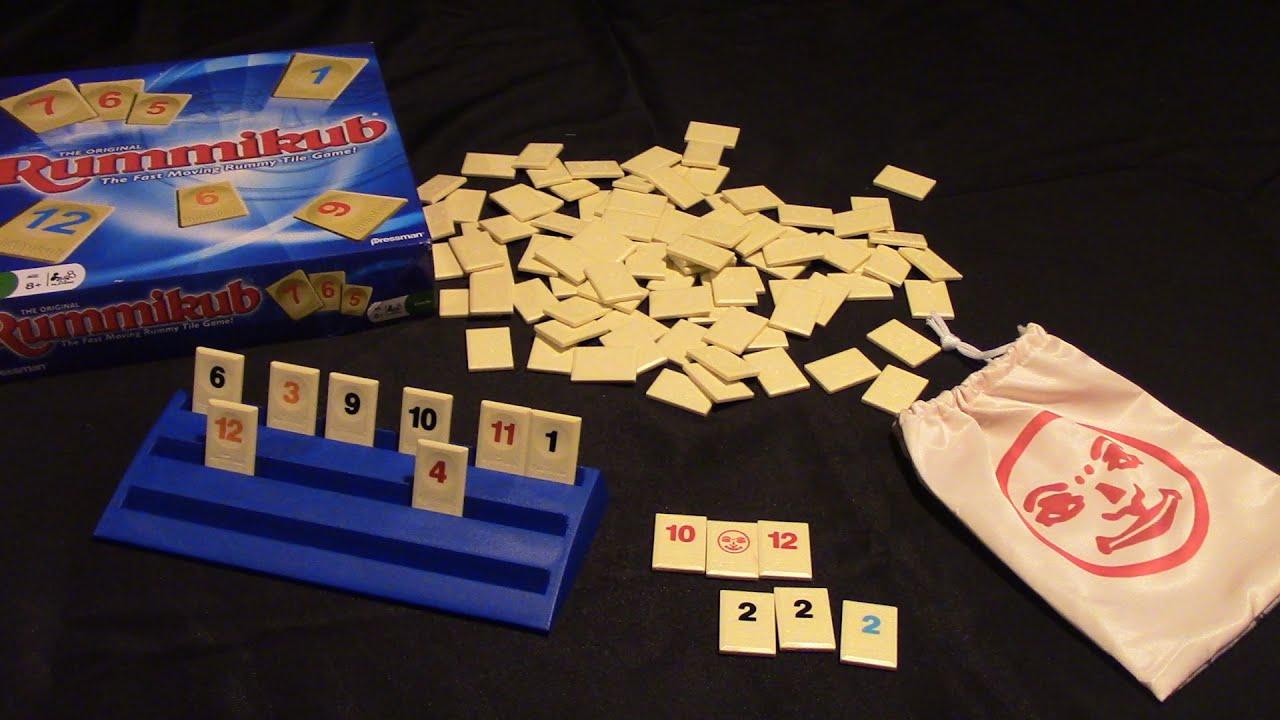 Jeremy Reviews It Rummikub Board Game Review Spiel