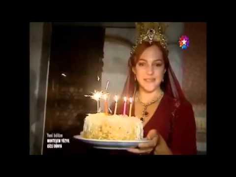 شاهد عيد ميلاد مريم اوزرلي خلف كواليس حريم السلطان - حصري اعداد : شيماء الشريف