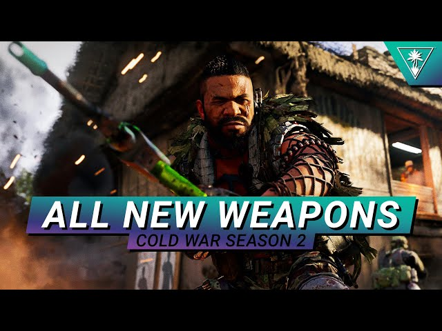 Call of Duty: Black Ops Cold War: Season 2 Brings The Hurt With 6 New Weapons