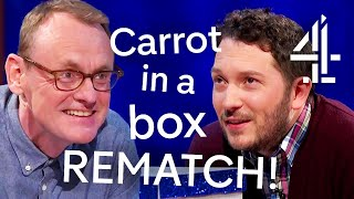 Sean Lock & Jon Richardson's Hilarious Carrot in a Box REMATCH! | 8 Out of 10 Cats Does Countdown